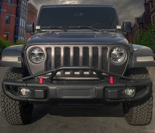 Jeep JL Wrangler Rubicon Full Width Bumper Hoop (4 Point)