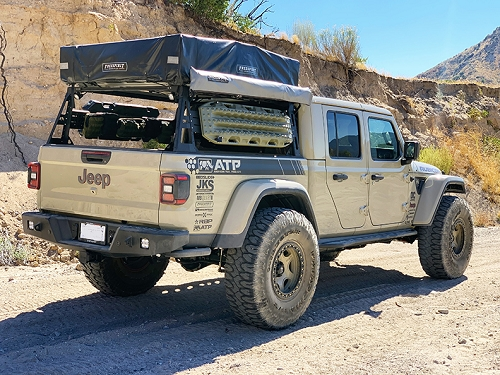 Jeep Gladiator Adventure Bed Racks